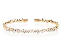 18kt 'Fireworks' Gelbgoldarmspange mit Diamanten