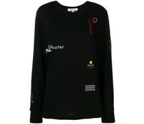 L/S T-Shirt-Emb Worn Fine T-Shirt Jersey