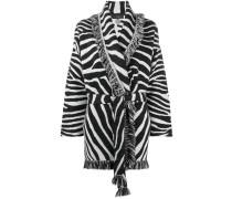 fringed belted jacket