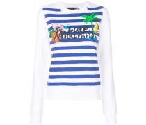 Gestreiftes 'Holiday' Sweatshirt