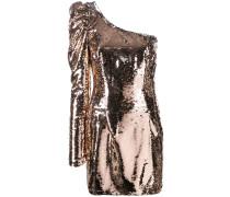 One-Shoulder-Kleid mit Pailletten