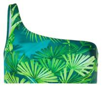 Bikinioberteil mit Jungle-Print