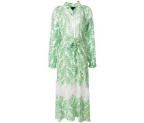 fern print summer dress