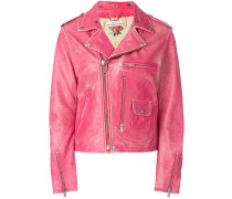 Distressed-Bikerjacke