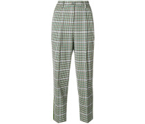 P.A.R.O.S.H. checked trousers