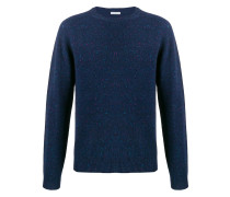 crew-neck knit sweater