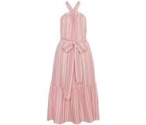 Cotton Maxi Striped Dress