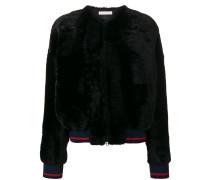 Diane fur bomber jacket