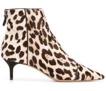 'Kittie' Stiefel mit Leopardenmuster