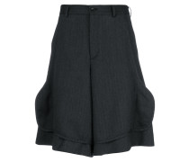 front flap tailored shorts