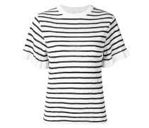 Gestricktes Pointelle-T-Shirt