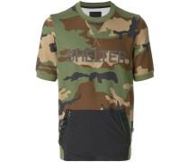 camouflage print hoodie