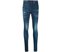 Skinny-Hose in Jeansoptik