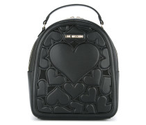 small heart backpack