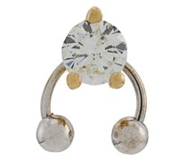 18kt yellow and white  Two In One diamond earring