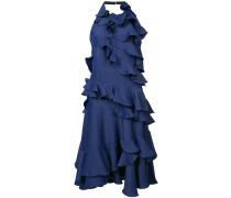 Gerüschtes Neckholder-Kleid