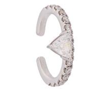 18kt Ear Cuff aus Weißgold mit Diamanten