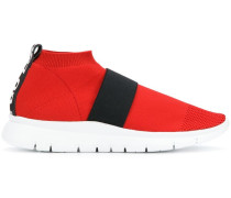 Sneakers mit Netzmuster