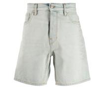 Jeans-Shorts mit Stone-Wash-Effekt