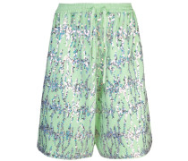 Fleece-Bermudas mit Pailletten
