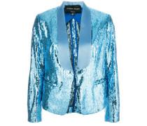 sequinned blazer