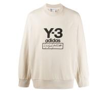 printed logo sweater
