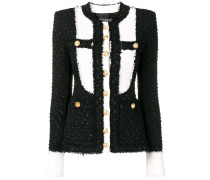 classic color blocked jacket