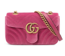 GG Marmont Mini-Tasche aus Samt