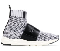 Cameron logo-strap sneakers