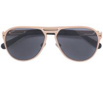 Vergoldete Pilotenbrille