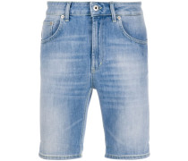 Schmale Jeans-Shorts