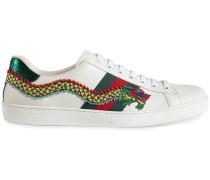 'Ace' Sneakers mit Drachenkopf