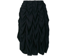ruched track skirt