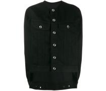 sleeveless arm holes jacket