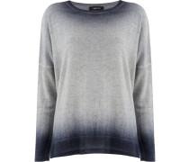 Sweatshirt mit Bleached-Effekt