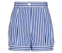 Shorts aus Popeline
