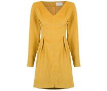 pleat details dress