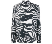 Hemd mit Zebramuster