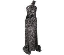 Abendkleid mit Leoparden-Print