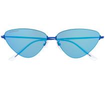 Sonnenbrille dreieckigem Gestell