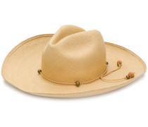 beaded panama hat
