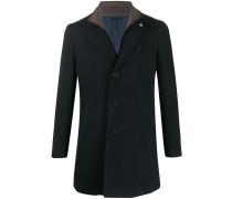 slim-fit coat