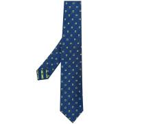 Krawatte mit Blumenmuster