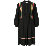 mandarin collar relaxed fit shirt dress