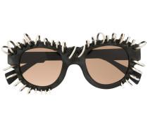Sonnenbrille mit Ringen