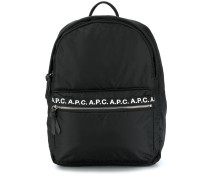 A.P.C. Rucksack mit Logos