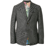 all over printed blazer