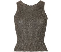 ribbed knit sweater vest