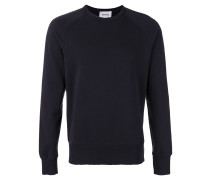 Sweatshirt mit Distressed-Ausschnitt