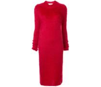 Gestricktes Kleid in Colour-Block-Optik
